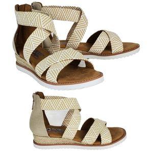 NWT Skechers bobs desert summer sun wedge sandals